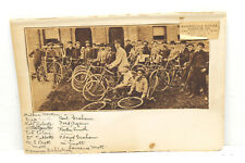 1920s Newspaper Photo Fayetteville Bicycle Riders in 1895 w/Names! History