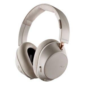 NEW Plantronics BackBeat GO 810 Over Ear Bluetooth Headphone - Bone White