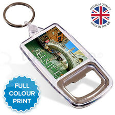 Venice Italy Souvenir Photo Gift Bottle Opener Keyring Key Fob | 45 x 35 mm