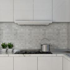 3D Tile Wallpaper Wall Stickers DIY Self Adhesive Mosaic Effect Kitchen Al Foil