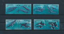 LN31475 Kiribati whales fish sealife fine lot MNH
