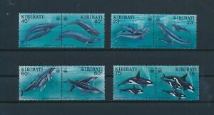 LN31475 Kiribati whales fish sealife fine lot MNH