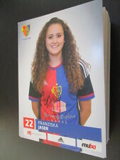 67950 Franziska Jaser FC Basel Damen original signierte Autogrammkarte