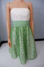 Tibi New Dress Size Us4 Uk 10 Rrp £475 Cream & Ivory