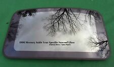 1998 MERCURY SABLE YEAR SPECIFIC  SUNROOF GLASS OEM NO ACCIDENT!  FREE SHIPPING!