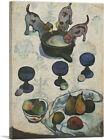 ARTCANVAS Still Life with Three Puppies 1888 Canvas Art Print by Paul Gauguin