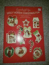 Original Vintage Holly Hobbie Die Cut Punch Out Christmas Ornament Fun Book 1979