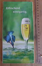 Lich Bier Werbung EISVOGEL u. Bierglas - auf Hessen Restaurantführer 132 Seiten