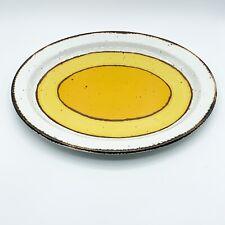 "Midwinter Stonehenge Sun Stoneware Serving Platter 12"" Vintage"