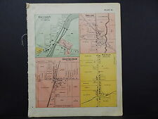 Wisconsin Sheboygan County 1902 Plat Map Franklin Oostburgh Batavia K20#36