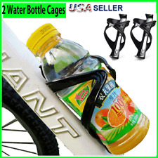 2X Bike Water Bottle Cage Holder Mount Bicycle Cycling Drink Cup Polycarbonate