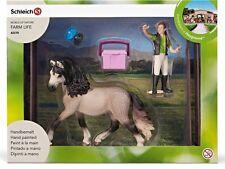 Andalusier Set mit Paddocks - Pferdehof Pferde Zubehör Schleich Nr. 42270 NEU