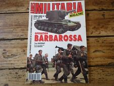 ARMES MILITARIA MAGAZINE HS N° 5 OPERATION BARBAROSSA WWII