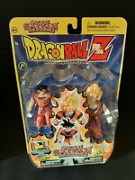New DragonBall Z Secret Saiyan Warriors Goku & S.S.3 Goku Figures Irwin Toy Nice