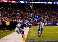 New York Giants Odell Beckham Jr Unsigned 8x10 Photo Picture Greatest Catch