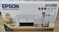 Epson EcoTank ET-2720 All-In-One Supertank Color Printer (White)