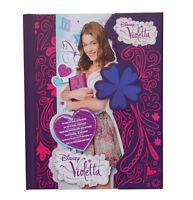 Disney Violetta Diario con Cierre Magnético 64 Seiten Diario Cuaderno Nuevo
