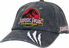 Jurassic Park Vintage Grey Baseball Cap