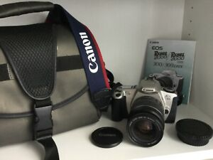 Vintage Canon EOS Rebel 2000/EOS 300 Film Camera and Bag - FREE POSTAGE