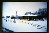 1962 Santa Fe Depot at Oakdale, Original Slide b20a