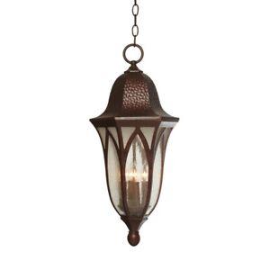 "Designers Fountain Berkshire 11"" Hanging Lantern, Antique Copper - 20634-BAC"