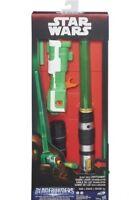 Hasbro Star Wars Blaster-Power Lichtschwert Licht Sound & Grün 79 cm Länge NEU