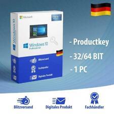 Windows 10 Professional 32/64 Bits Product Key - Win 10 Pro OEM Lizenzschlüssel