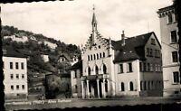 Postkarte Ansichtskarte AK PK sw ungelaufen  Sonneberg Altes Rathaus Thüringen