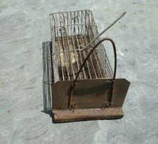 Antique Vintage Metal Wire Mouse Rat Rodent Trap Cage Primitive Rustic Folk Art