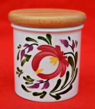 VINTAGE PORTMEIRION:  'WELSH DRESSER' TINY  STORAGE JAR  -  SUPER CONDITION!