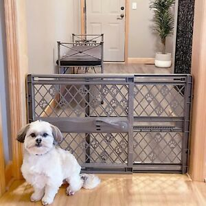 """40"""" Retractable Pet Gate Portable Dog Cat Barrier Guard Fence Room Divider Field"""