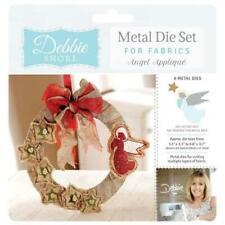 Crafters Companion Debbie Shore Fabric Dies Angel Appliqué