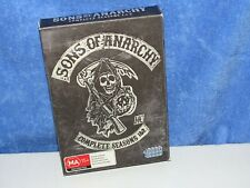 SONS OF ANARCHY DVDS * SEASONS 1. & 2. ( 8 DISCS ) PAL REGION 4
