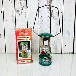 Vintage Coleman Lantern Model 222A 1/84 whit Original Box