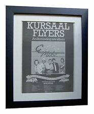 KURSAAL FLYERS+Golden Mile+TOUR+POSTER+AD+FRAMED+ORIGINAL 1976+FAST GLOBAL SHIP