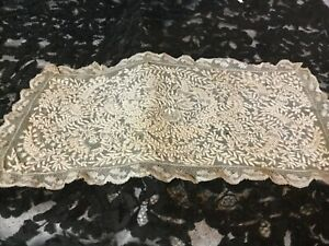 STUNNING PIECE OF ANTIQUE LACE