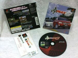 WOW!  Touge Max G (PlayStation, 2000) Super RARE! Japan