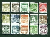 ALEMANIA/RFA WEST GERMANY 1966-1969 MNH SC.936/951 City and Buildings