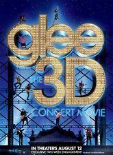 GLEE 3D CONCERT MOVIE  - 13x20 Original Promo Movie/TV Poster MINT 2011