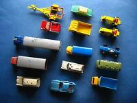 Konvolut mit alten Matchbox, Siku, Lesney Modellautos