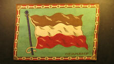"Early 1900's felt flag 5"" by 8"" of Germany"