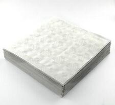 25 x quadrato bianco usa e getta TOVAGLIE FESTE MATRIMONI TAVOLA copre 90x88cm