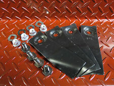 """1 x set , 4 x blade and bolt suit masport and morrison 20""""  lawn mowers"""