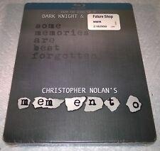 Memento (2010, Canada, Region Free) Steelbook NEW