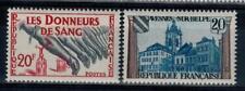 (a10)  timbres de France n° 1220/1221 neufs** année 1959