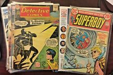 Huge mixed lot of 20 old comic books: Mostly vintage Marvel and DC