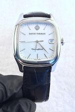 David Yurman T302-LST Men's 35mm Thoroughbred Square Automatic Watch