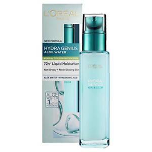L'Oreal Paris Hydra Genius Hyaluronic Acid + Aloe Liquid Hydrating Moisturiser