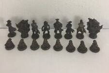 Pirates of the Caribbean 3 in 1 Pirate Games Trilogy Edition 2006 Chess Pieces