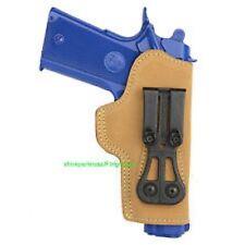BlackHawk Suede Leather Tuckable Holster Colt 1911 Officers 421602BN-R (TG2)